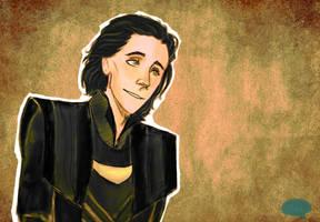 Prince Loki by JadeisM