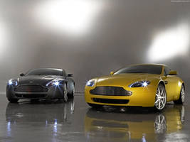 Aston Martin Vantage Combo by shawngee