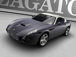 2006 Zagato Ferrari 575 GTZ 1 by shawngee
