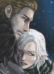 Dragon Age Inquisition by EseEbi