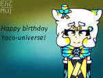 Birthday topic (contest entry for yaco universe) by Elizabeth787