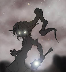 :Dark Link: by 3-Elements-of-Grey