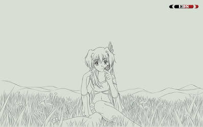 Spring LineArt by MONOEDS