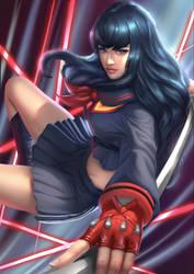 Satsuki- Ryuko uniform by Zamberz