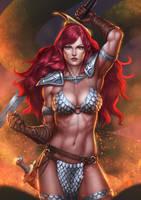 Red Sonja by Zamberz
