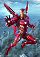 Ironman Infinitywar Fanart by Zamberz
