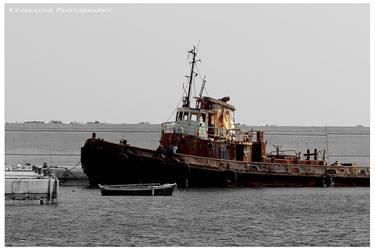Old Tugboat by Kevrekidis