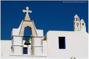 Hellenic Blue IV by Kevrekidis
