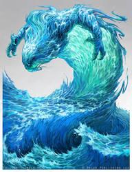 Water Elemental - Pathfinder by Nigreda