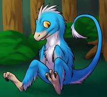 Fluffy Dinos! by phoenixbat