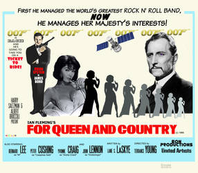 For Queen and Country movie poster by Encyes