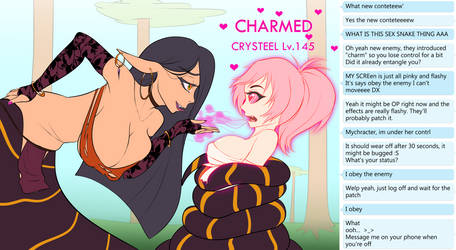 Crystal Charmed and Hypnotized 2/3 by Lewd-Zko