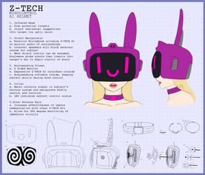Z-tech Helmet by Lewd-Zko