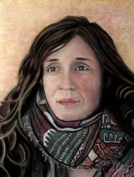 Portrait of Katy Desmond, c. 2017 by DionysusRex