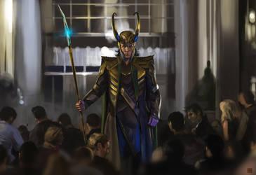 Loki submission scene by Sickbrush
