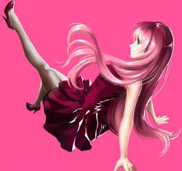 Hot Pink Luka by My-Magic-Dream