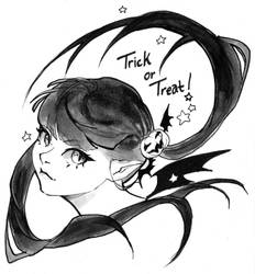 Inktober day 31 - Trick or Treat! by My-Magic-Dream