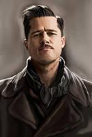 Brad Pitt is a Basterd by Oliptius
