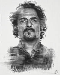 Tig Trager Portrait by LiamGolden