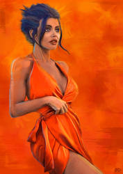 Orange by LiamGolden