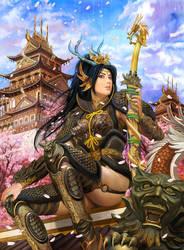 Dragon girl by azazel1944