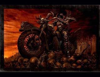 Brown chariot by azazel1944