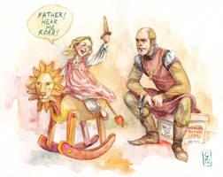 Rocking Lion by cabepfir