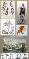 ADwD doodles 2 by cabepfir