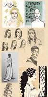 ADwD doodles 3 by cabepfir