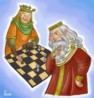 Charlemagne VS King Arthur by cabepfir