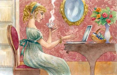 Commission: Austen blog by cabepfir