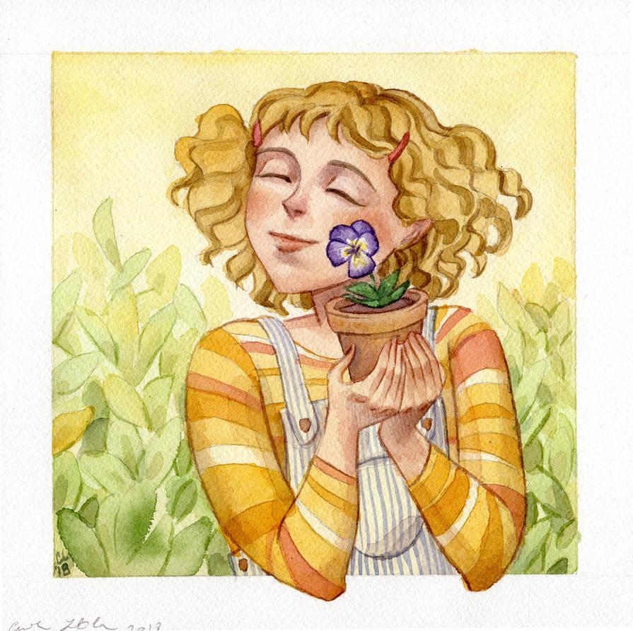 Sweet Violet by cabepfir