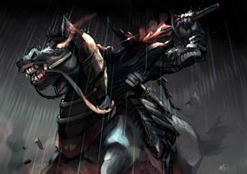 Dark knight card game by K-hermann