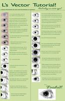 Vexel Tutorial - Basic Eyes by VAngelLJ