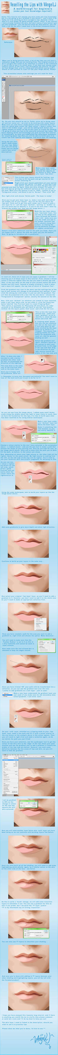 Vexelling the Lips: A Tutorial by VAngelLJ