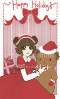 christmas card o9 . 1 of 6 by patternfactory