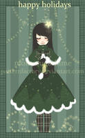 christmas card o9 . 3 of 6 by patternfactory