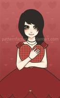 . lolita valentine - love . by patternfactory
