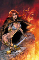Red Sonja Commission Colored! by Dawn-McTeigue