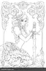 Theory of Magic: Selyara Pencils by Dawn-McTeigue