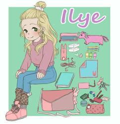 Whatsinmybag Ilye by Kladdpapper