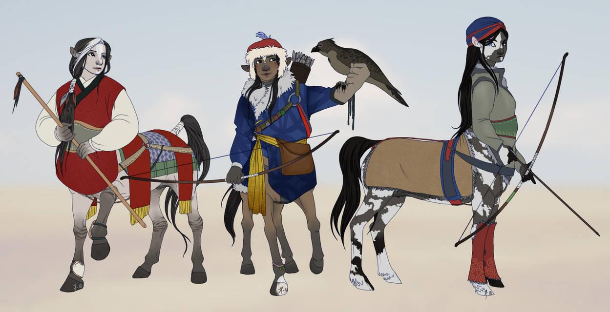 Centaurs by Kladdpapper
