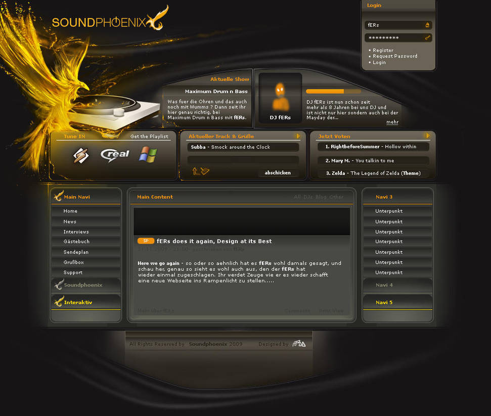 Soundphoenix.fm by fERs