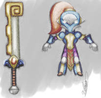 Dragon Feeder - Knight Concept by tiopalada