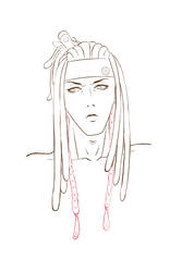 Angry Cinnamon Daddy Sketch by Kirin-Riki