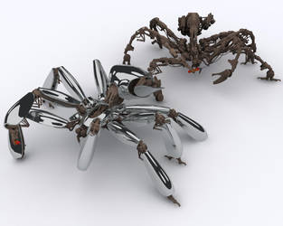 Spidey-bot by Sanberg