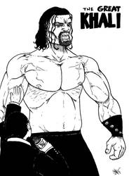 the great khali by jalmari
