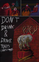 Christmas Don't Drink Drive by marcony