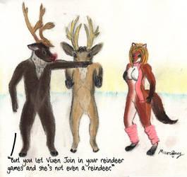 Reindeer Games by marcony