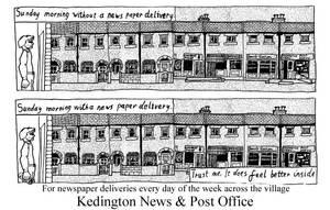 Kedington News flyer 1 by marcony